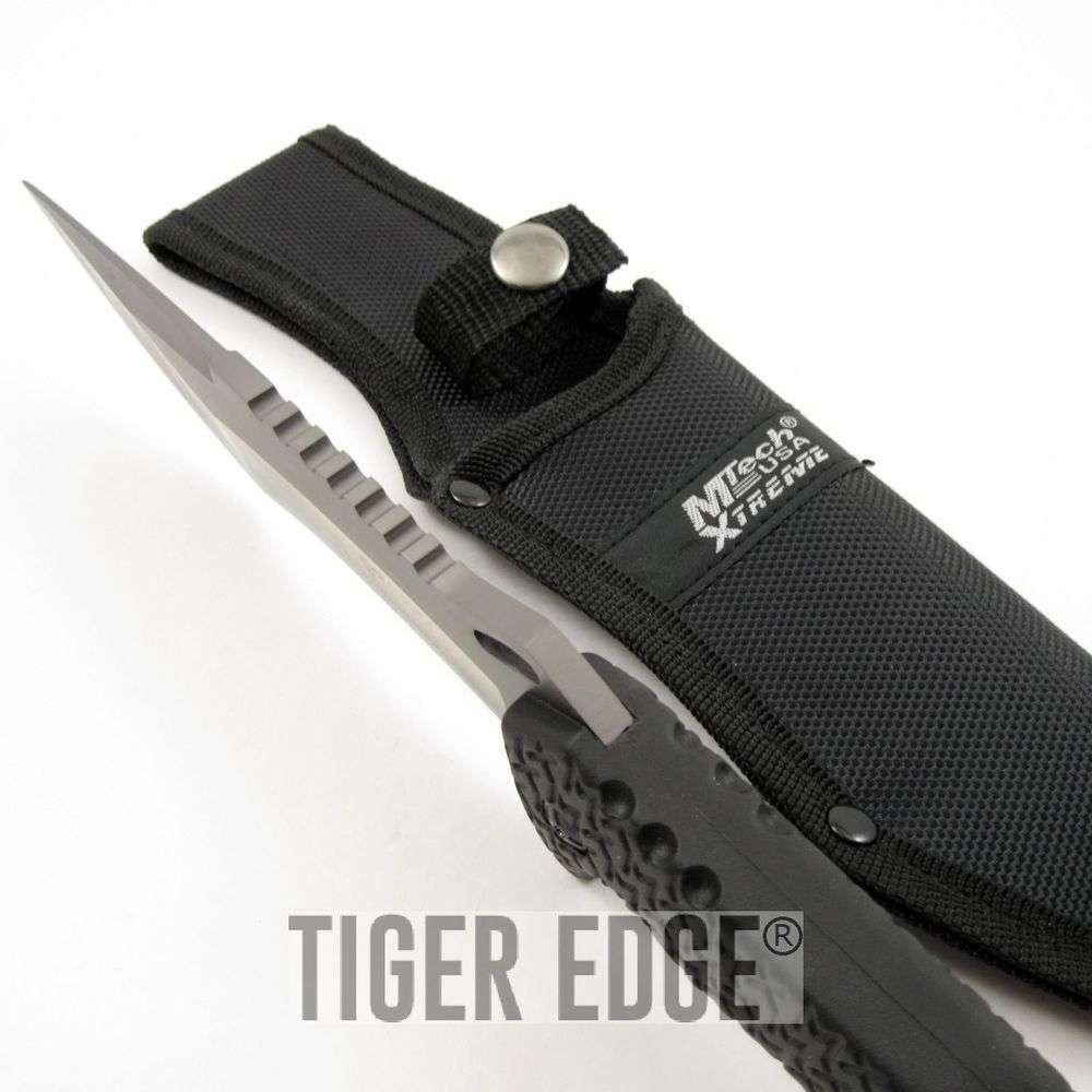 Titanium combat knife