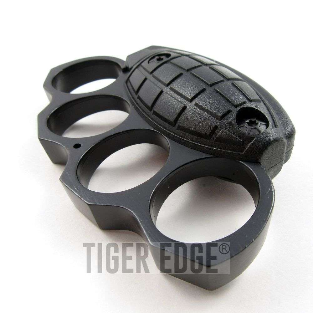 Black Grenade Knuckle Defender