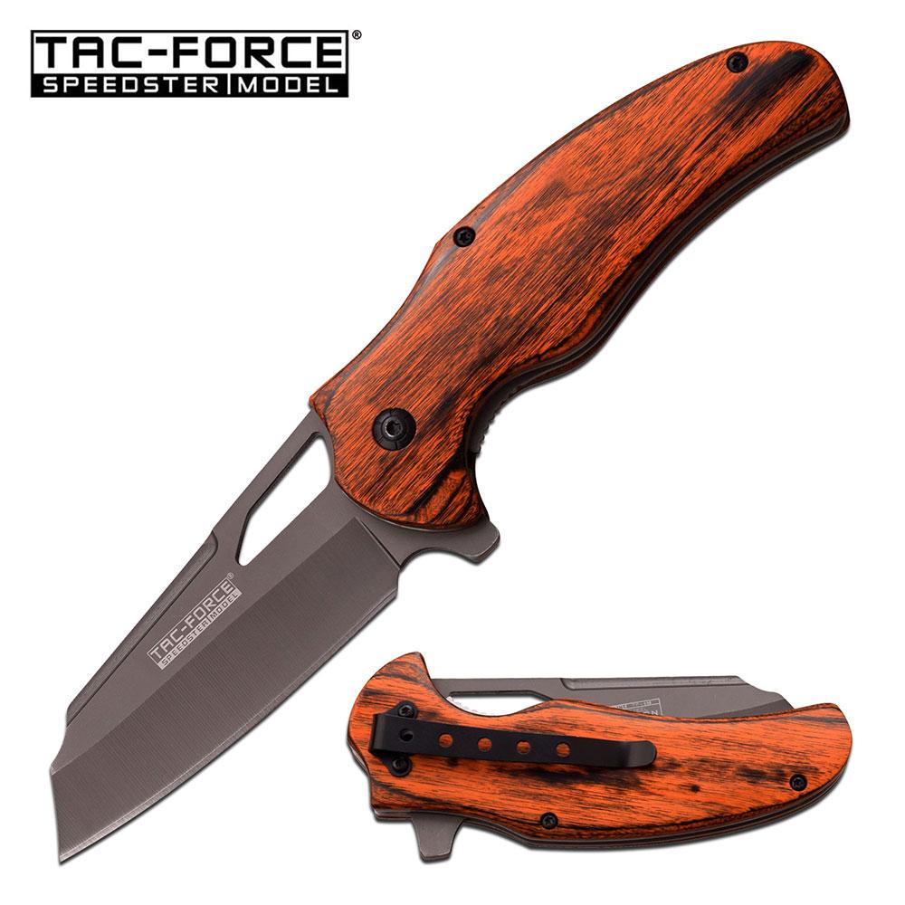 Mtech Cleaver: SPRING-ASSIST FOLDING POCKET KNIFE