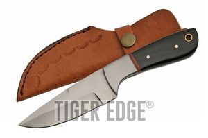 Hunting Knife Clip Point Skinner Blade Full Tang 7.5