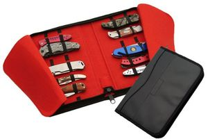 15 Knife Leather/Felt Knife Storage Case