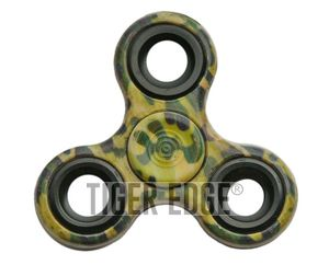 FIDGET SPINNER | Low-cost - Stainless Steel Bearings - Green Camo 211424
