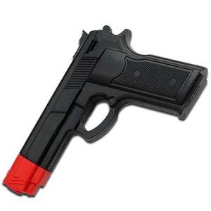MARTIAL ARTS TRAINING | Black Rubber Combat Training Pistol Gun 7