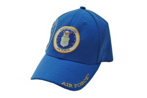 US Air Force Blue Baseball Hat Cap - One Size Fits All