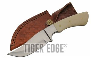 Hunting Knife Clip Point Skinner Blade Full Tang 8.25