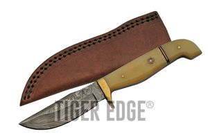 Damascus Steel Hunting Knife | 8