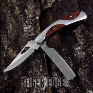 Elk Ridge 2-Blade Gentleman Folding Knife Razor