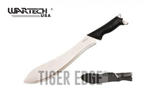 Bolo Machete | Wartech Full Tang Silver Blade Survival Tactical 15.625