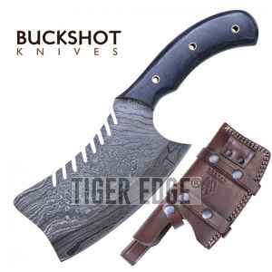 Damascus Steel Cleaver | 11