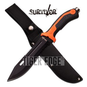 FIXED-BLADE SURVIVAL KNIFE 12.75