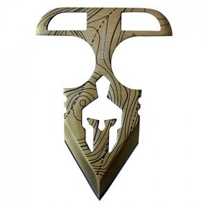Tactical Push Dagger | Gold 4.75