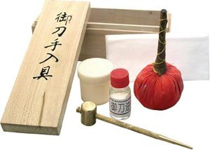 Deluxe Japanese Ultimate Sword Cleaning and Care Kit