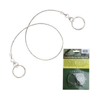 WIRE SAW Camping Survival Emergency Tool Outdoor Stainless Steel Hiking Hunting
