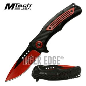 Spring-Assist Folding Pocket Knife | Mtech 3.6