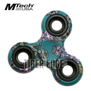 Fidget Spinner | Low-Cost Skull Stainless Steel Bearing MT-FSP003GCA