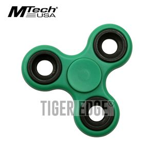 Fidget Spinner | Low-Cost Green Stainless Steel Bearing MT-FSP003GN