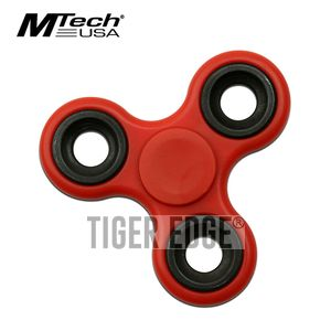 Fidget Spinner | Low-Cost Red Stainless Steel Bearing MT-FSP003RD