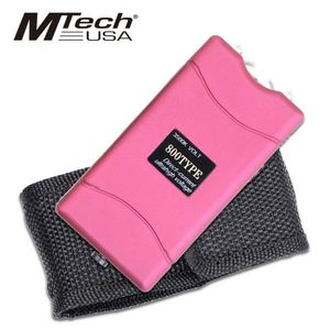 Mtech Pink 800TYPE 3.5 Million Volt Self-Defense Stun Gun w/ Case