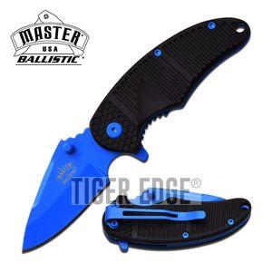 SPRING-ASSIST FOLDING KNIFE | Mini Blue 2.5