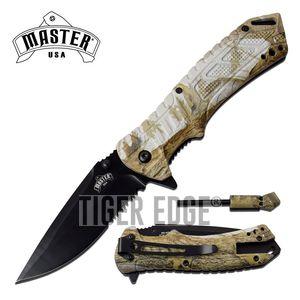 Spring-Assist Survival Folding Knife | 3.5