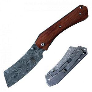 Spring-Assist Folding Knife   Buckshot 3.25