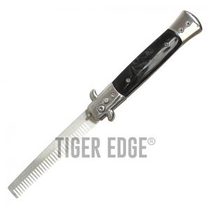 Automatic Switchblade Comb Wartech 9