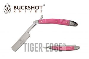 Straight Razor | Barber Shaving Blade Pink Pearl Handle