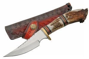 FIXED-BLADE HUNTING KNIFE   Steel Stag 10
