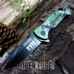 Tac-Force Living Dead Walking Zombie Spring Assisted Rescue Folding Knife