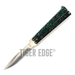 Butterfly Balisong Knife - Green