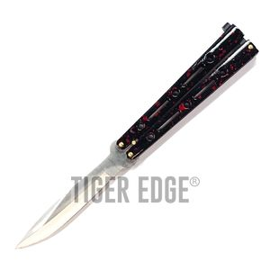 Butterfly Balisong Knife - Red