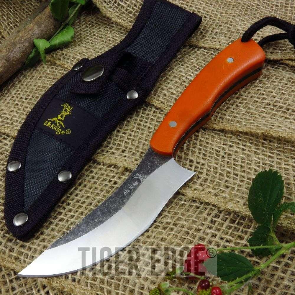 Fixed-Blade Hunting Knife   Elk Ridge 7.6