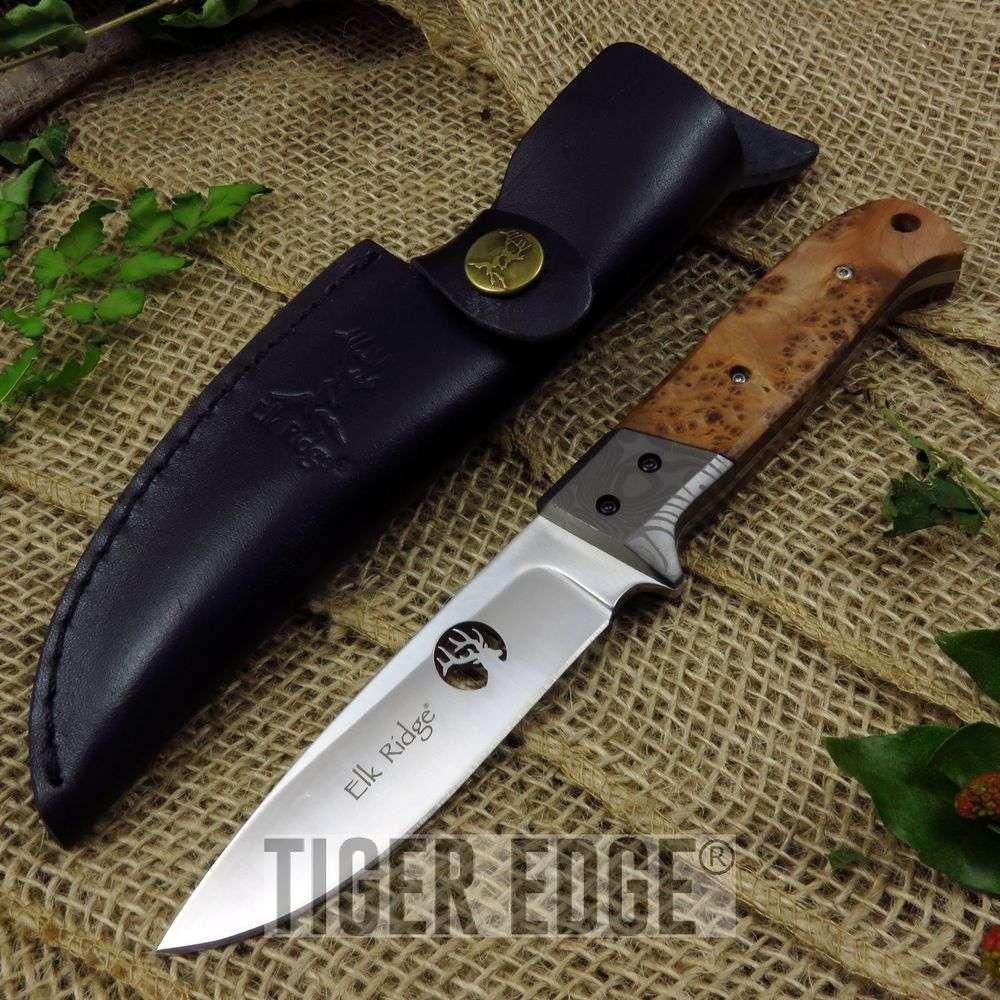 Fixed-Blade Hunting Knife Elk Ridge 8