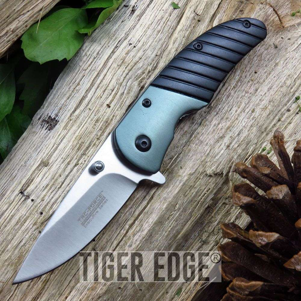 Tac-Force Black Roach Small Spring Assisted Folding Knife