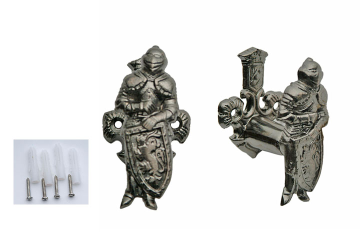 "3"" Medieval Knight Hanging Display For Sword, Knife, Pistol, Rifle, Or Gun"