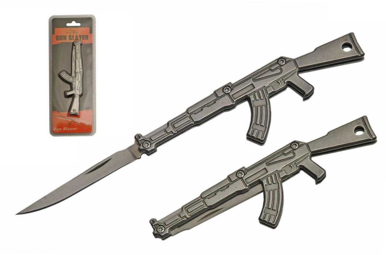 Mini Ak-47 Keychain Folding Knife | 2