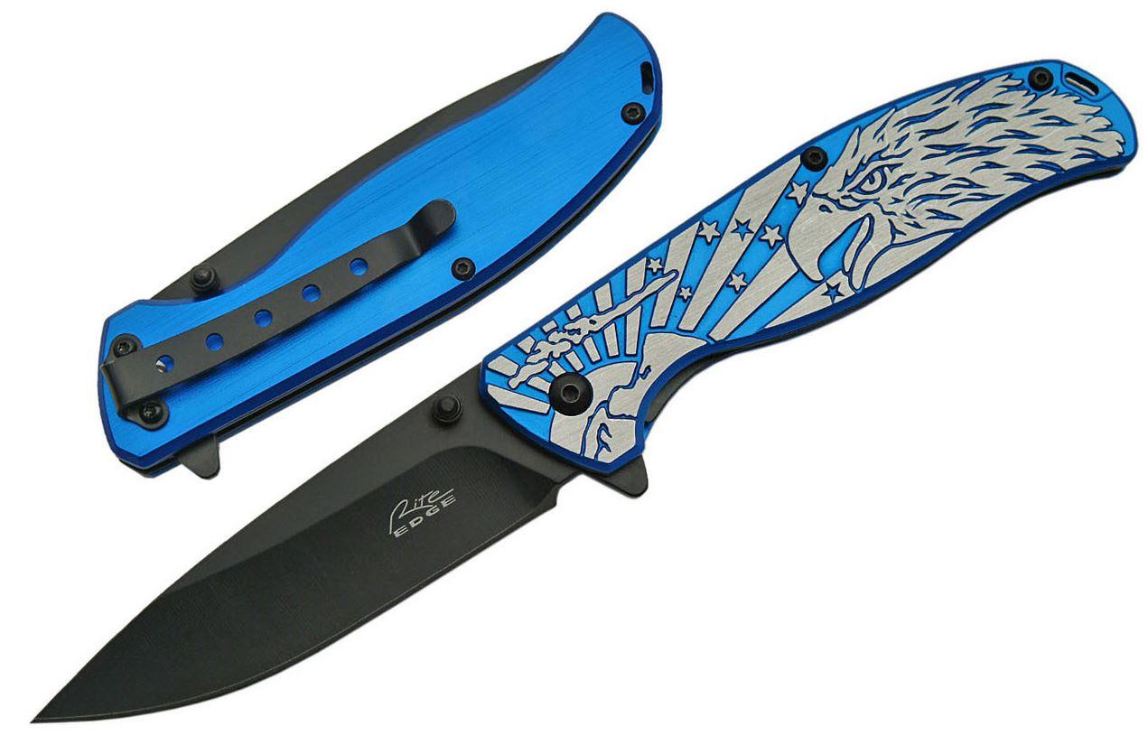 Spring Assist Folding Knife 3.5