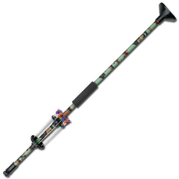 "24"" Green Hunter Camo Blowgun W/ 10 Darts"
