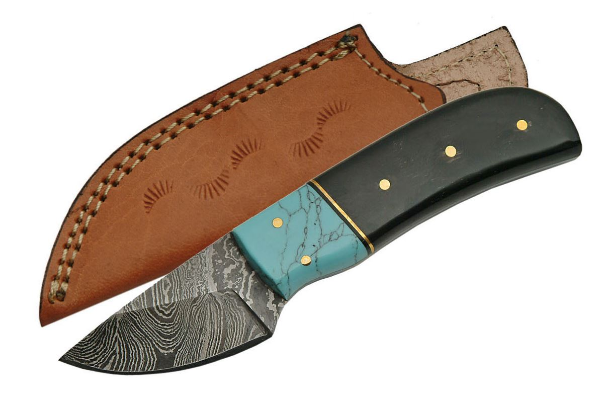 Fixed-Blade Hunting Knife   2
