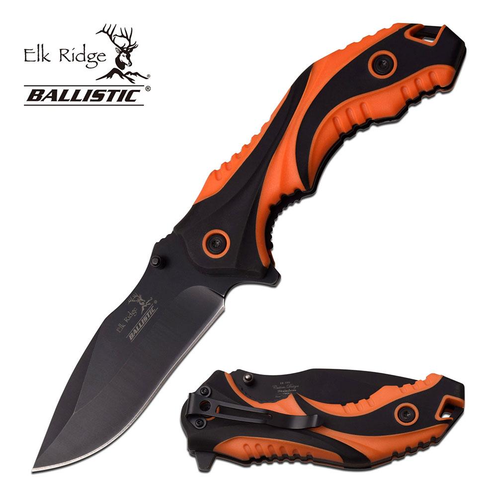 Spring-Assist Folding Knife Elk Ridge 4