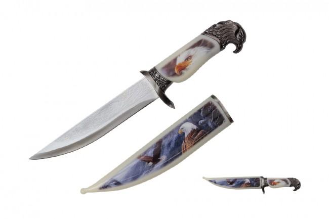 Bowie Knife | American Bald Eagle Dagger Silver 8