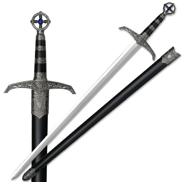 "37"" Heavy Medieval Great Sword Long Sword Robin Hood"