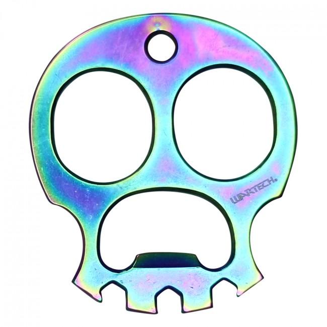 Wartech Skull Knuckle Punch Keychain Bottle Opener 2.5