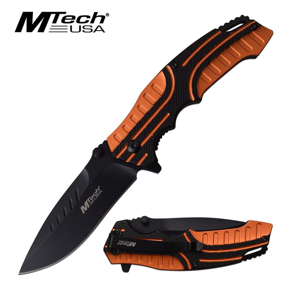 Spring-Assist Folding Knife Mtech 3.4