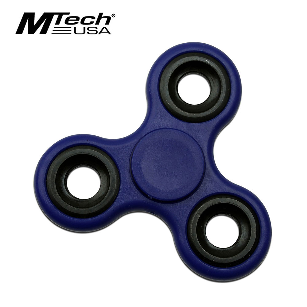 Fidget Spinner | Low-Cost Blue Stainless Steel Bearing Mt-Fsp003Bl