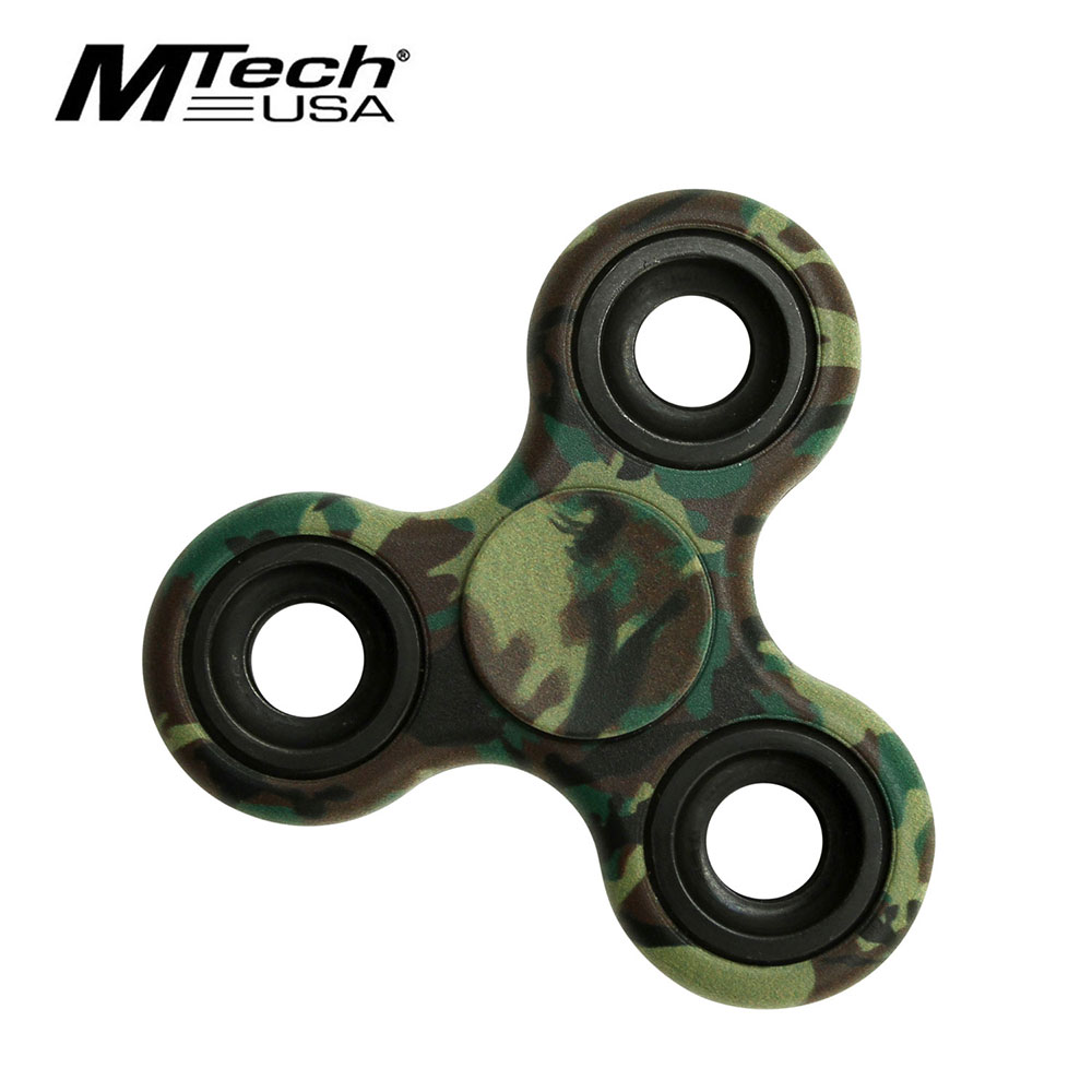 Fidget Spinner | Low-Cost Green Camo Stainless Steel Bearing Mt-Fsp003Ca