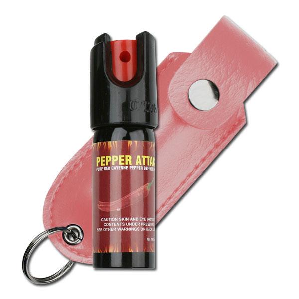 Pepper Spray   Women 0.39 Oz. Self Defense Red Cayenne Mace 4.25