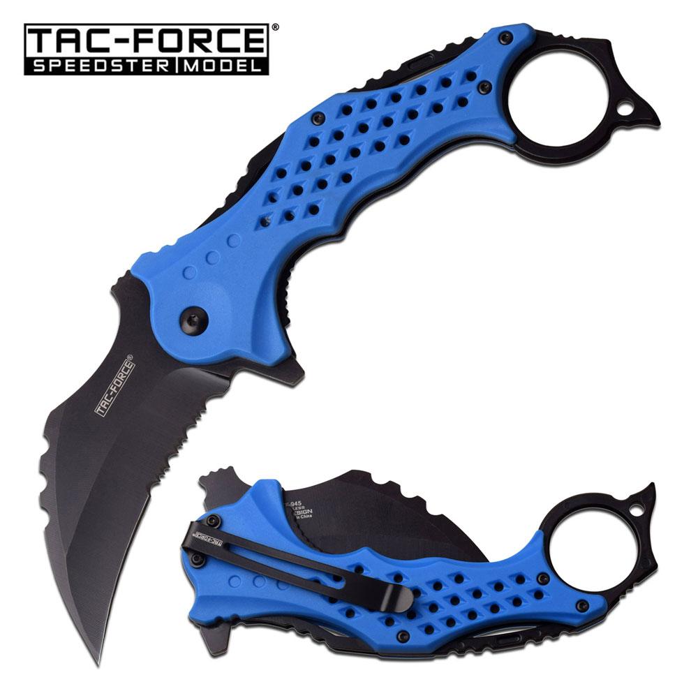 Spring-Assist Folding Knife Tac-Force 3