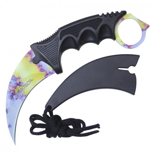 Karambit Tactical Neck Knife Wartech 2.5