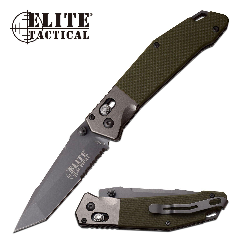 Folding Pocket Knife Elite Tactical 3.5